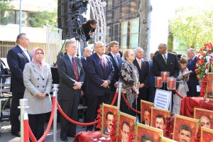 New York rally in defense of Ashraf Hostages