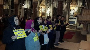 London: Prayers for Peace, Tribute to the massacred refugees in Ashraf